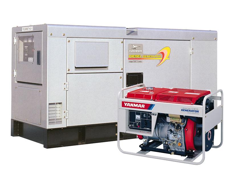 Дизельные генераторы Yanmar