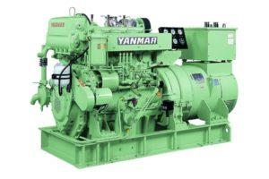 Судовой дизельный генератор YANMAR YMAS-125S (4HAL2-TN)