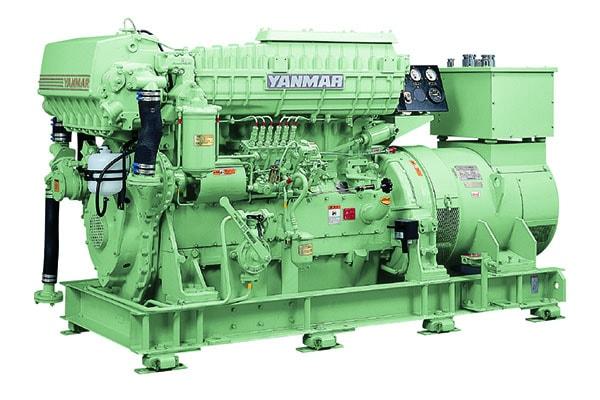 Судовой дизельный генератор YMAS-125S (6HAL2-N)