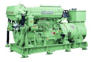 Судовой дизельный генератор YMAS-250S-6HAL2-WHT