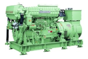 Судовой дизельный генератор YMAS-290S-6HAL2-WDT