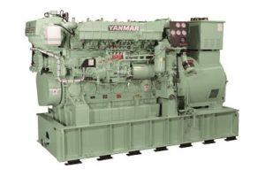 Судовой дизельный генератор YMAS-500S (6AYL-WET)
